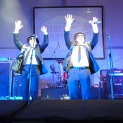 """Australian Blues Brothers Tribute in Australia • <a style=""""font-size:0.8em;"""" href=""""http://www.flickr.com/photos/66500283@N05/6055704340/"""" target=""""_blank"""">View on Flickr</a>"""