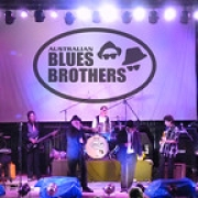 """Australian Blues Brothers with Brass Section, Festival Stage • <a style=""""font-size:0.8em;"""" href=""""http://www.flickr.com/photos/66500283@N05/8670086643/"""" target=""""_blank"""">View on Flickr</a>"""