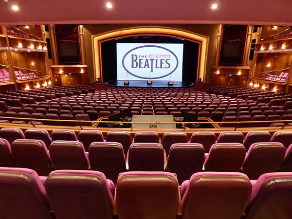 The Australian Beatles theatre show on Marina of the Seas cruise ship