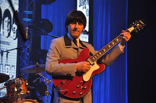 The Australian Beatles Tribute performing in Macau