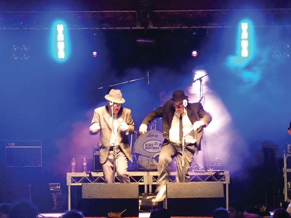 The Australian Blues Brothers performing in Australia