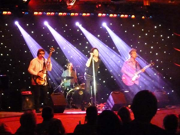 Rolling Stones Tribute Band on Dawn Princess Cruise
