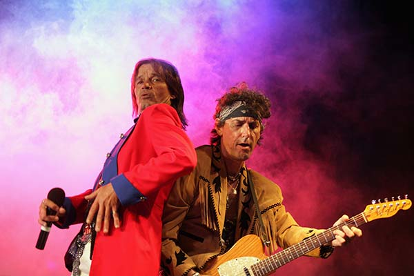 Rolling Stones Tribute Show performing in Perth