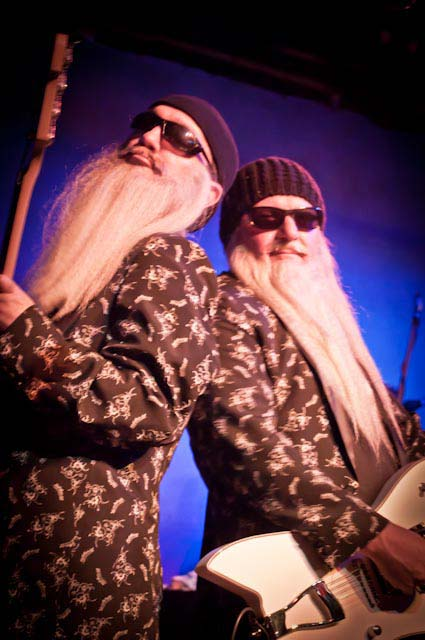 ZZ Top Tribute Show Band Performing in Perth