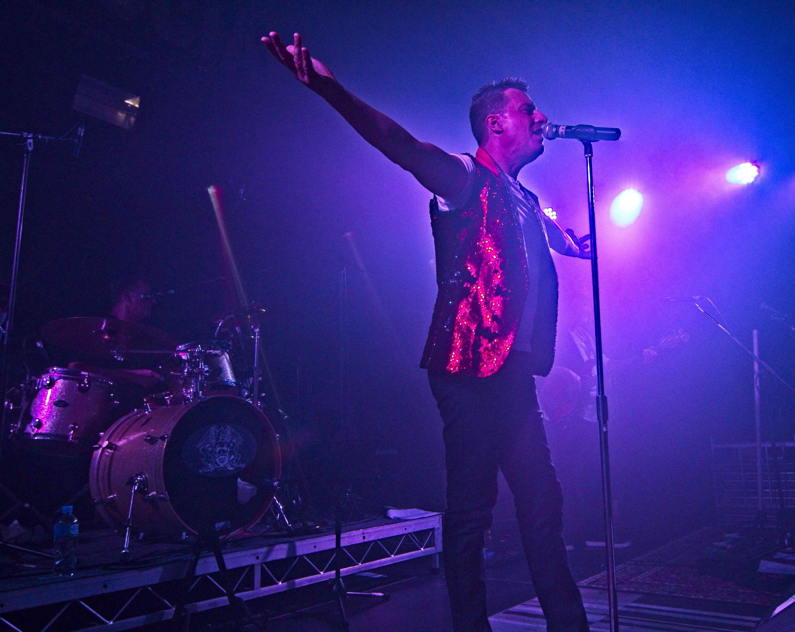Robbie Williams Tribute Show Band Perth Australia
